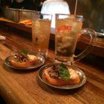 中野【立ち飲みパニパニ】 羽根つき餃子とそば茶ハイで乾杯!