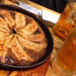 高円寺「餃子処たちばな」ドリンク1杯の注文で餃子が0円になる居酒屋