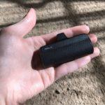 「iWALK」ケーブル要らず!ミニマルで持ち運び便利な小型モバイルバッテリー